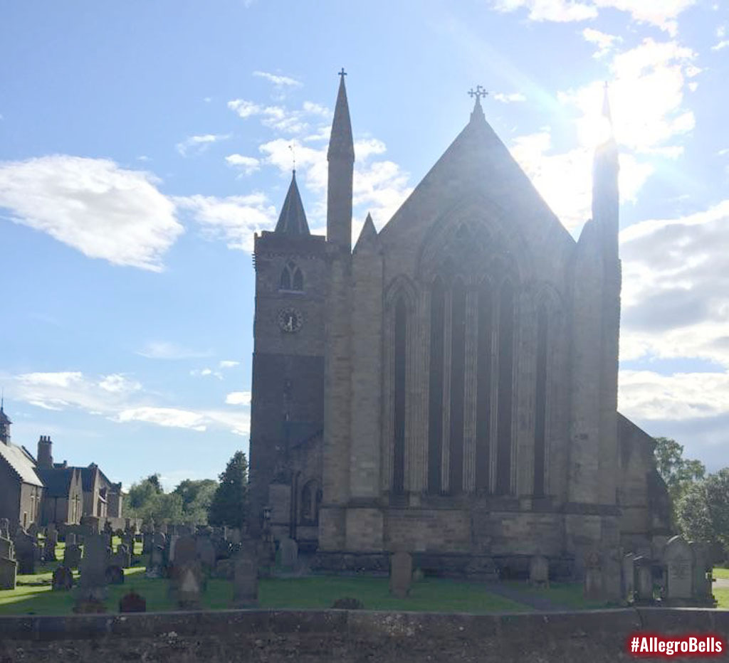 Dunblane Cathedral in Scotland